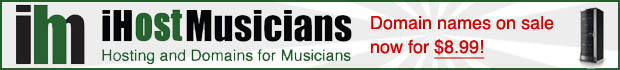 Hosting and Domains for Musicians